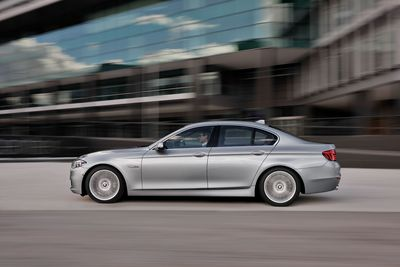 Segment leader since 2011: The BMW 5 Series saw its sales jump 10.6% in May 2014. (PRNewsFoto/BMW Group)