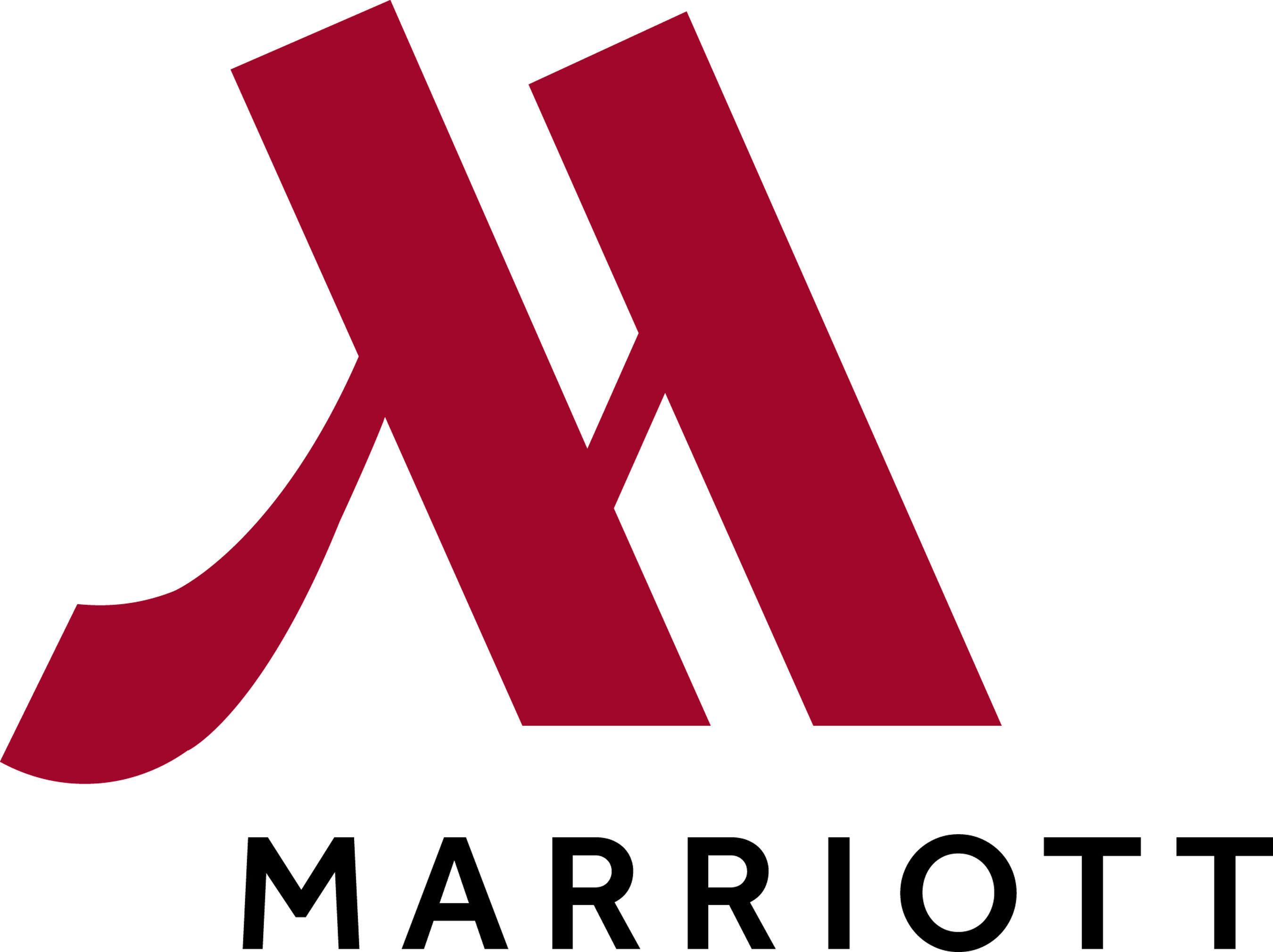 Marriott Hotels & Resorts logo.