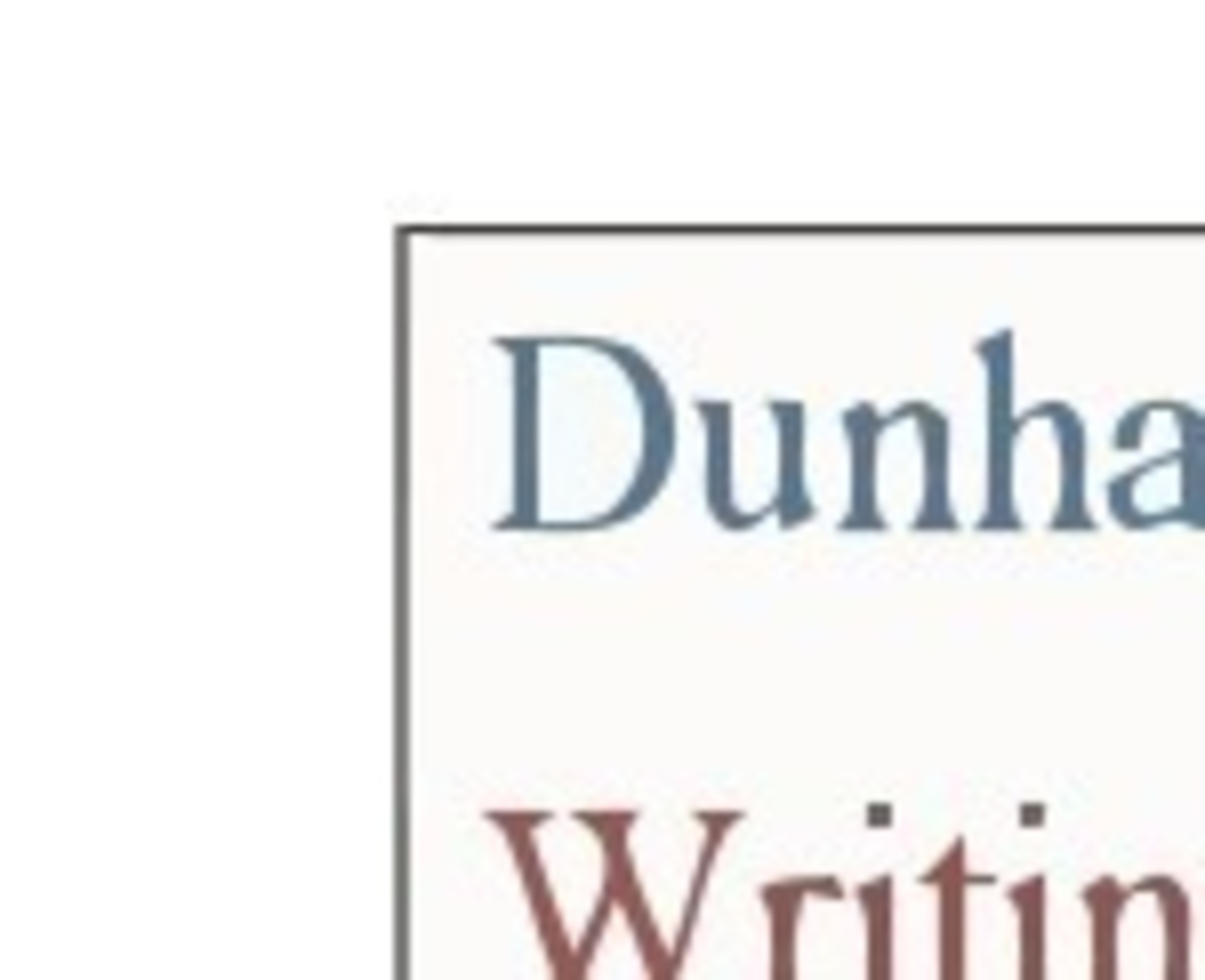 Dunham Writing logo (PRNewsFoto/Dunham Writing)