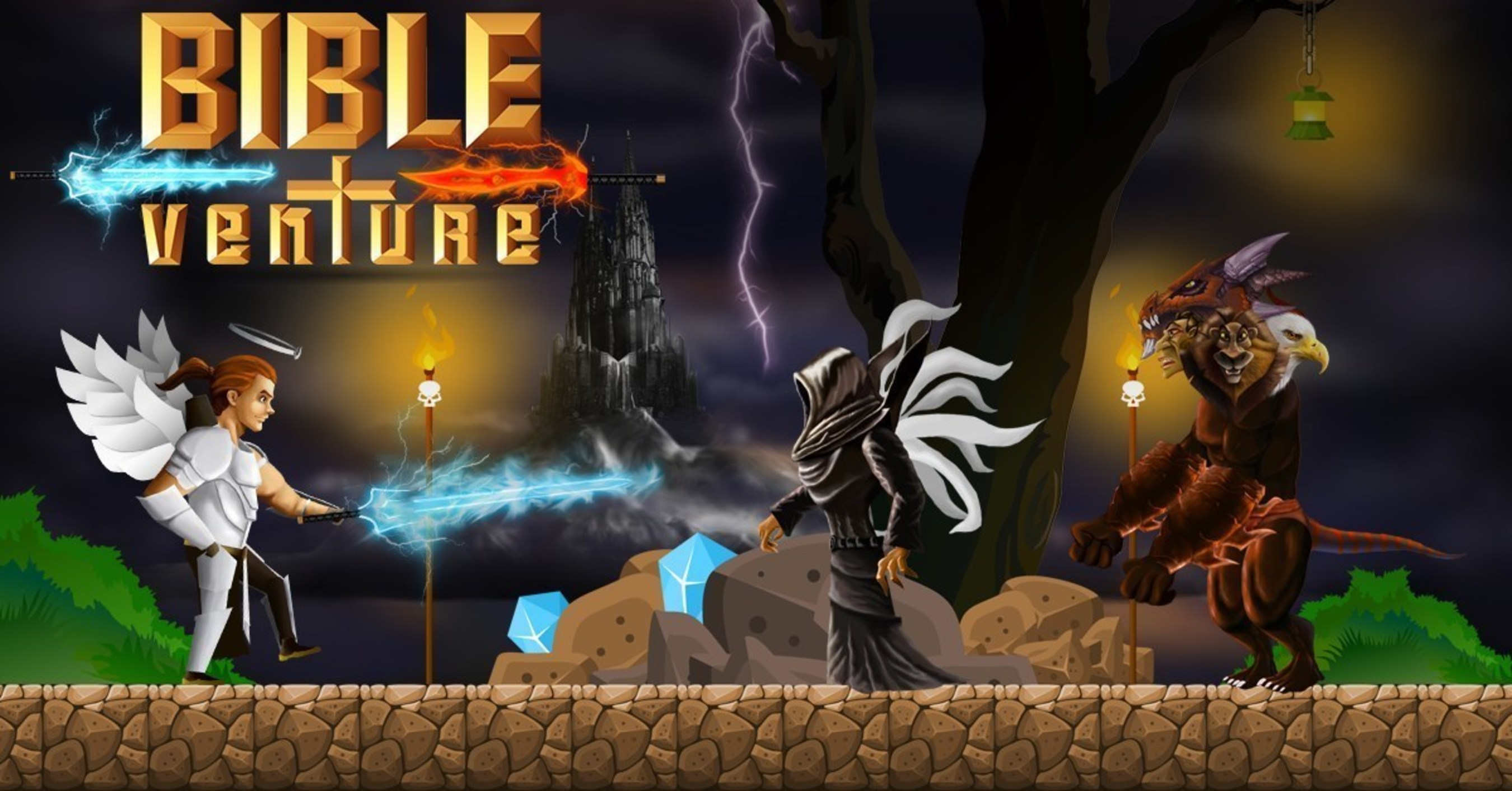 Integrity Games Releases 2D Platformer 'Bible Venture' for iOS, Android, & Amazon Fire