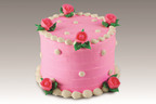 Baskin-Robbins Pink Surprise Cake.  (PRNewsFoto/Baskin-Robbins)