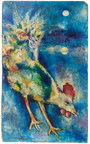A Marc Chagall cockerel oil on board estimated at more than $1 million is in J. Levine Auction & Appraisal's Fall Catalog Auction on Thursday, October 29 in Scottsdale, Arizona. www.jlevines.com
