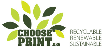 """Choose Print"" as Part of Your Marketing Mix- An educational campaign on the effectiveness and environmental sustainability of print.  (PRNewsFoto/Choose Print)"