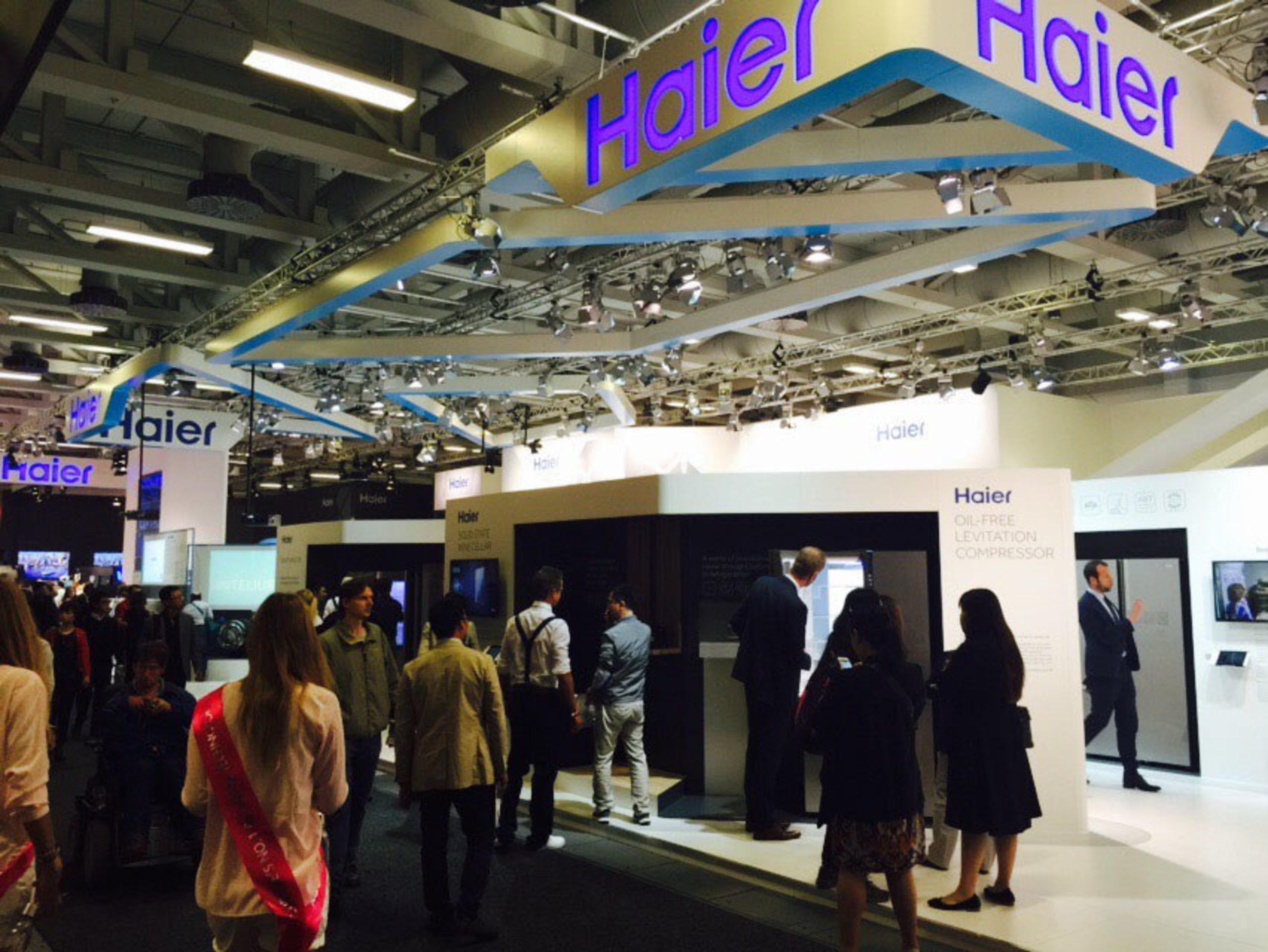 W ramach wystawy produktów smart na targach IFA Berlin firma Haier odpowiada na wyzwania, z którymi