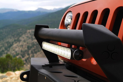 New LED Off-Road Light Bar by J.W. Speaker now available at your local retail location.
