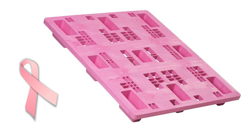 Pink Plastic Pallets from Litco International. (PRNewsFoto/Litco International) (PRNewsFoto/LITCO INTERNATIONAL)