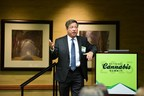 Mark Goldfogel from the Fourth Corner Credit Union speaking at a past National Cannabis event