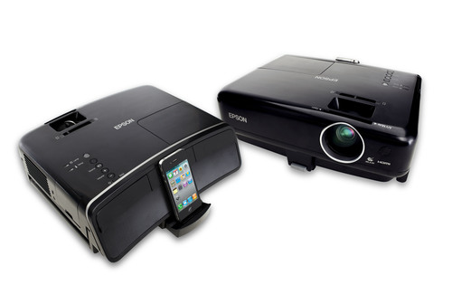 Epson MegaPlex projectors offer big screen viewing for iPod, iPhone and iPad mobile device users to share ...