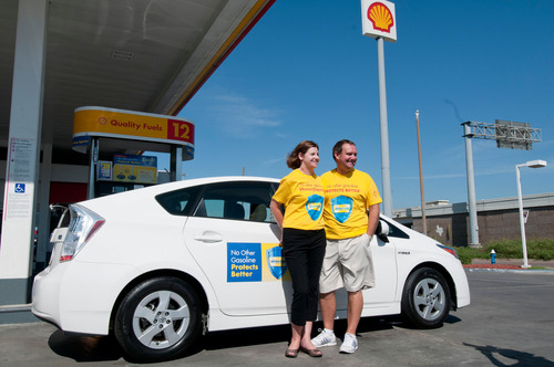 During their 21-day fuel-efficiency trip throughout the 48 contiguous U.S. states, the Taylors achieved an ...