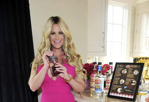 Kim Zolciak Biermann teams up with Mama Walker's(TM) breakfast inspired liqueurs to celebrate upcoming ...