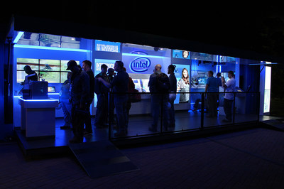 Running day and night shifts to accommodate 24-hour Intel Fab sites, The Inside-Out Experience draws attendees and their families into the early morning hours.