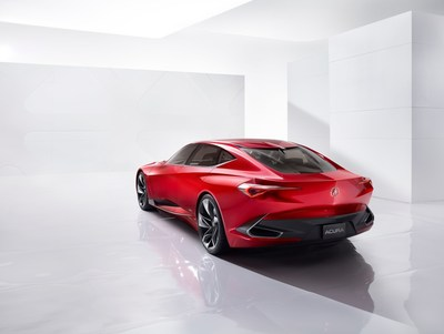 The Acura Precision Concept model made its world debut at the 2016 North American International Auto Show today, pointing toward a bolder, more distinctive future for Acura vehicle design.