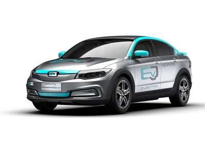 Qoros 3 Q-LECTRIQ EV concept