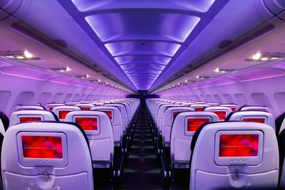 Virgin America Wins Top U.S. Airline In Conde Nast Traveler's 2012 Readers' Choice Awards.  (PRNewsFoto/Virgin America)