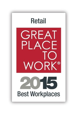 Retail Best Place to Work 2015