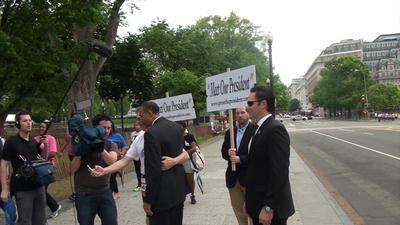 Press the President (PRNewsFoto/Press the President)