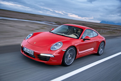 The all-new, seventh-generation Porsche 911 has been named the 2012 World Performance Car.  (PRNewsFoto/Porsche Cars North America, Inc.)
