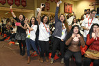 Chicago Public High Students are excited during the Get Schooled, #GetConnected Celebration.