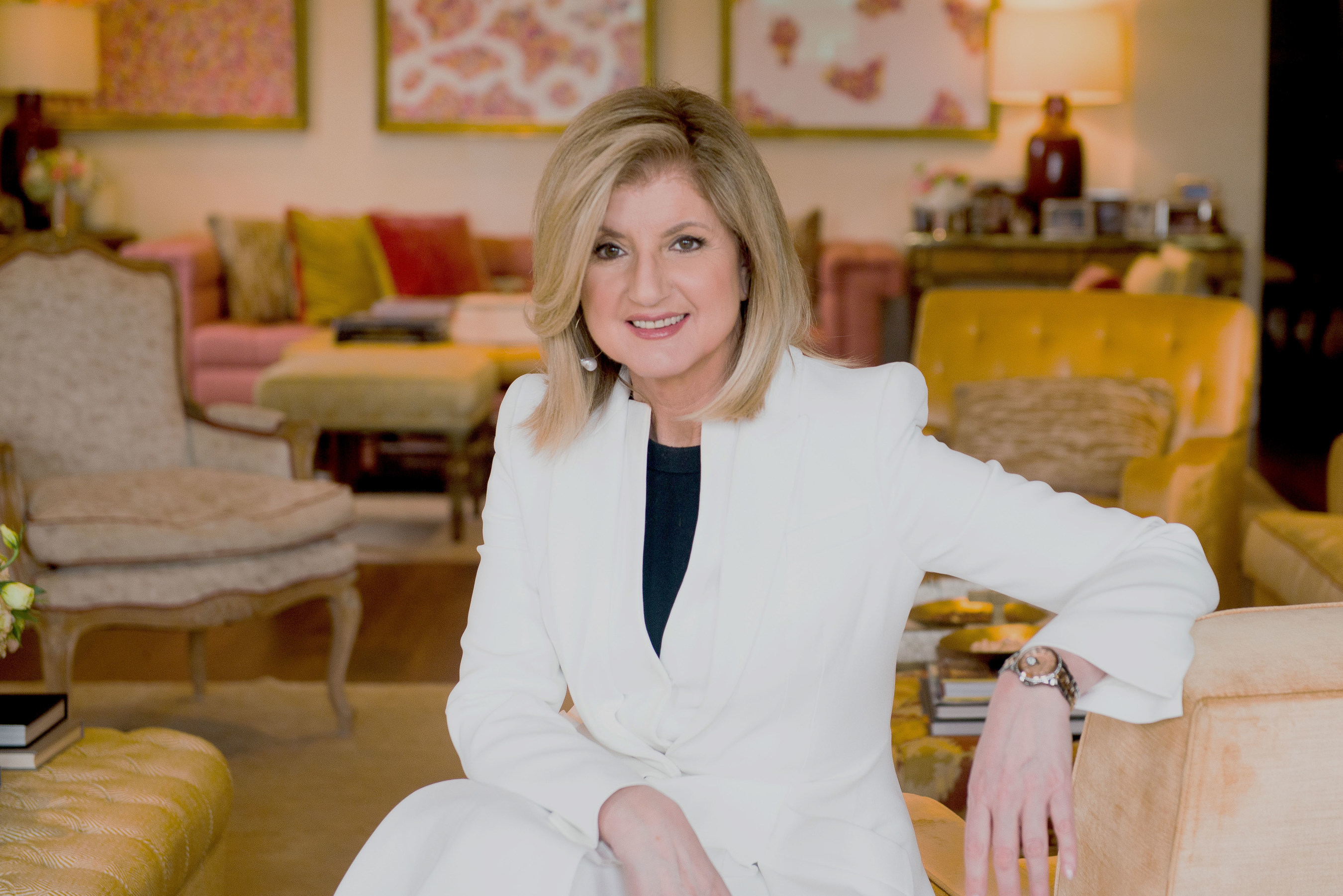 Watch Arianna Huffington bedtime ritual experiment video