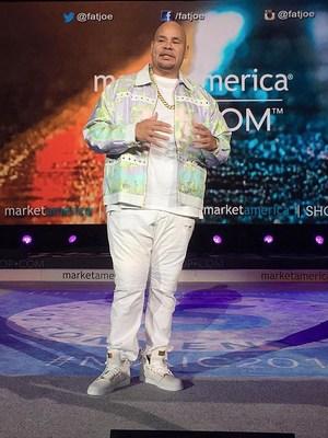 "Joseph ""Fat Joe"" Cartagena addresses 20,000 entrepreneurs at the Market America | SHOP.COM International Convention"