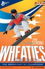 Wheaties Celebrates Snowboard Cross Champion Evan Strong.  (PRNewsFoto/General Mills)