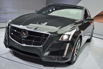With a wider wheelbase and new engine, the 2014 Cadillac CTS is expected to continue leading the way for mid-size luxury sedans.  (PRNewsFoto/Bill Jacobs Cadillac)