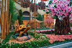 Bellagio Celebrates Japan with First Japanese Garden-Inspired Conservatory Display
