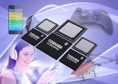 Toshiba's latest Bluetooth LE ICs power wearables and other Bluetooth Smart devices with very low current consumption.