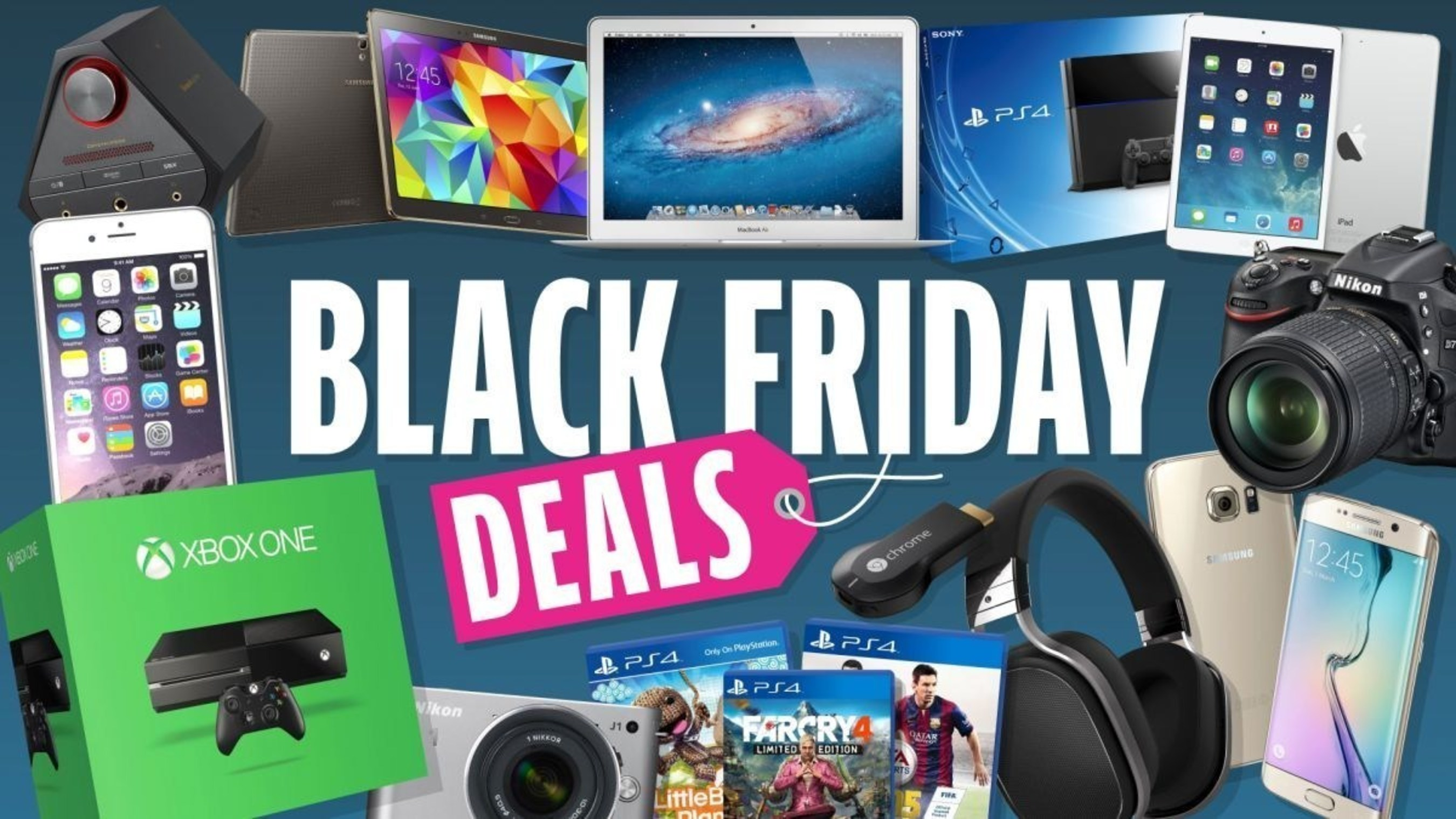 Top 10 Best Black Friday TV Deals 2015 Have Been Released by Hideal.net