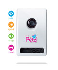 Petzi Treat Cam ('see') live video, ('speak') audio, ('snap') take pictures, and ('treat') dispense treats to their pets remotely anytime from anywhere.