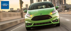Davenport, Iowa drivers can get behind the wheel of the 2015 Ford Fiesta at Dahl Ford for a versatile, fun-to-drive ride. (PRNewsFoto/Dahl Ford)