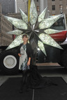 2011 Swarovski Star Revealed for Rockefeller Center Christmas Tree by Actress Olivia Wilde