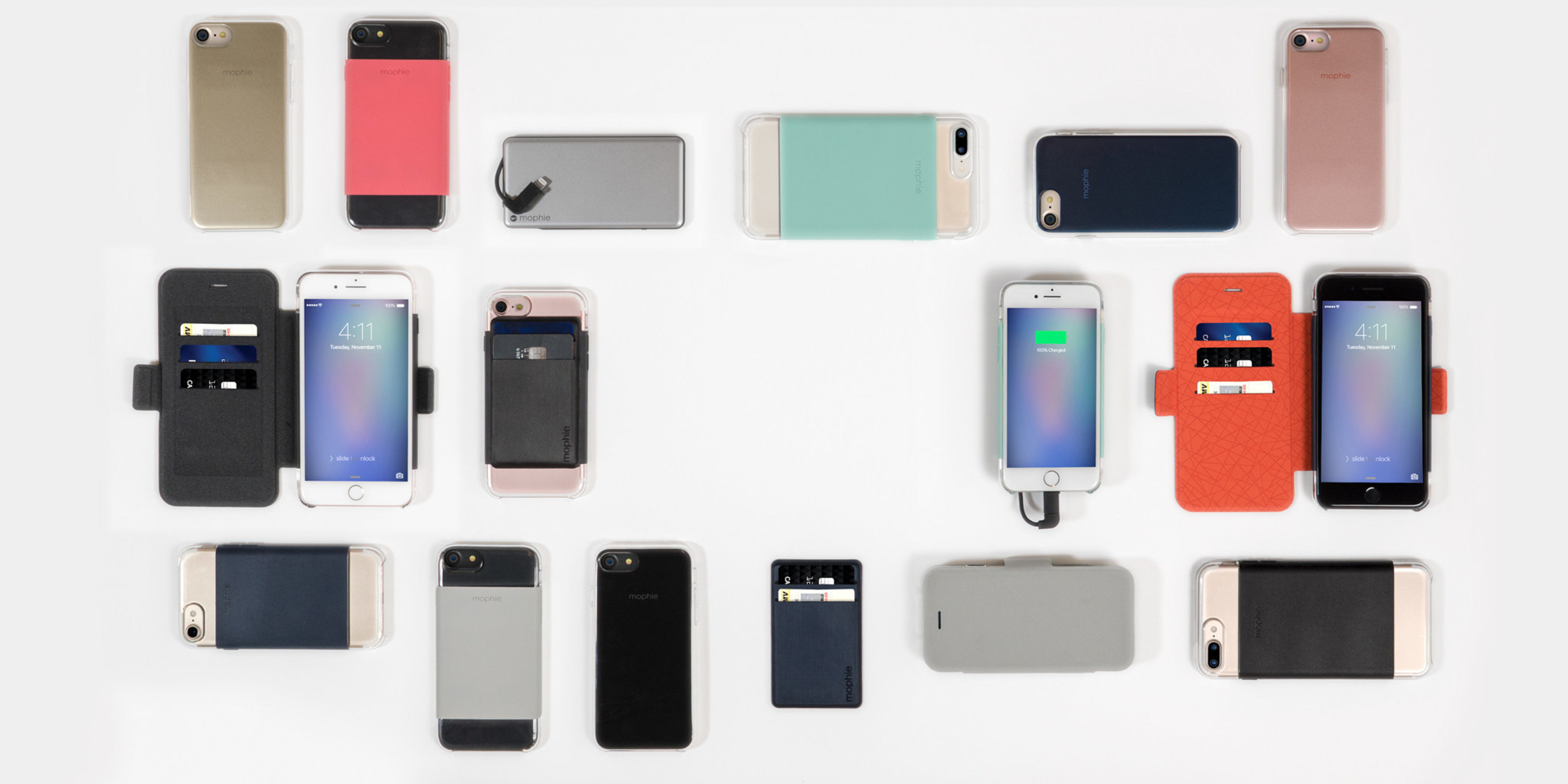mophie hold force(TM) Cases and Accessories