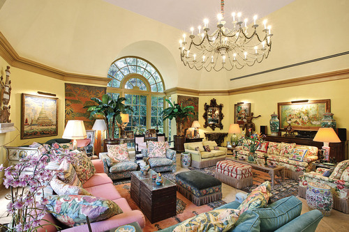 The Estate of Lilly Pulitzer, Palm Beach, Florida.     (PRNewsFoto/Leslie Hindman Auctioneers)