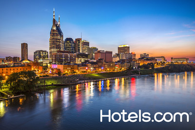 Of the 50 Most Popular Domestic Cities for Americans, 47 saw price increases in the first half of 2014, with Nashville, Tenn. experiencing the largest increase, according to the Hotels.com Hotel Price Index. (PRNewsFoto/Hotels.com)