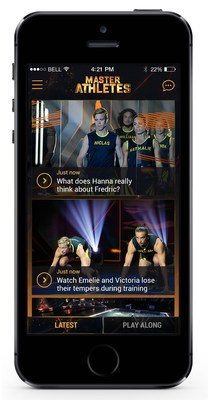 Master Athletes TV app (PRNewsFoto/Applicaster)