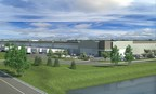 Rendering of I-80 Logistics Center, Salt Lake City, Utah. (PRNewsFoto/USAA Real Estate Company)