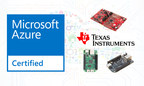 Texas Instruments collaborates with Microsoft to speed Internet of Things (IoT) development. Texas Instruments (TI) today announced three low-cost evaluation kits based on its embedded processors supporting Microsoft Azure Certified for Internet of Things. As one of the first semiconductor vendors with certified wireless microcontroller- (MCU) and processor-based evaluation kits ready to work with the Microsoft Azure IoT Suite, TI is uniquely positioned to help developers begin IoT application development within minutes.