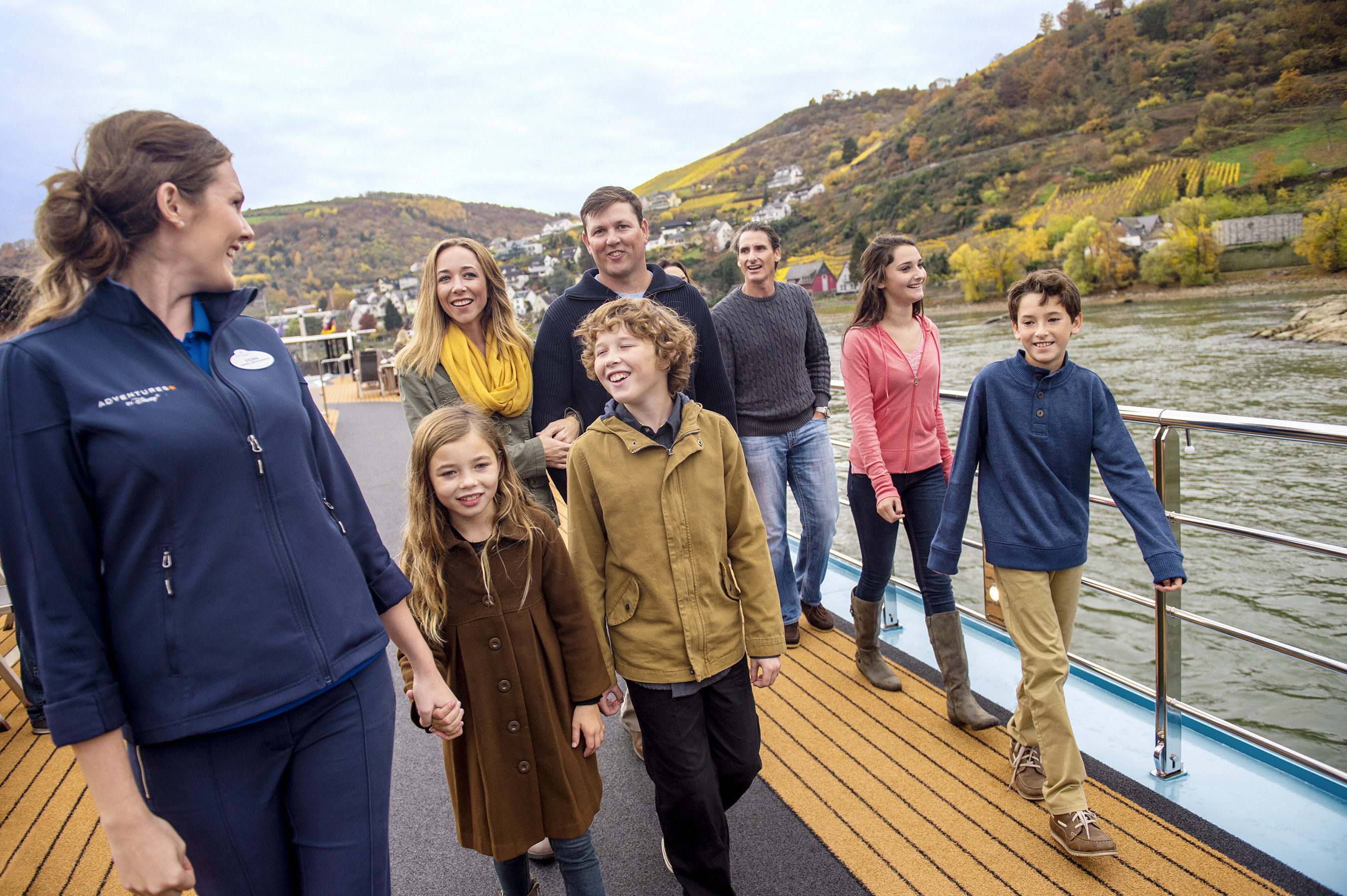New 2017 Adventures by Disney Itineraries--New Rhine River Vacation