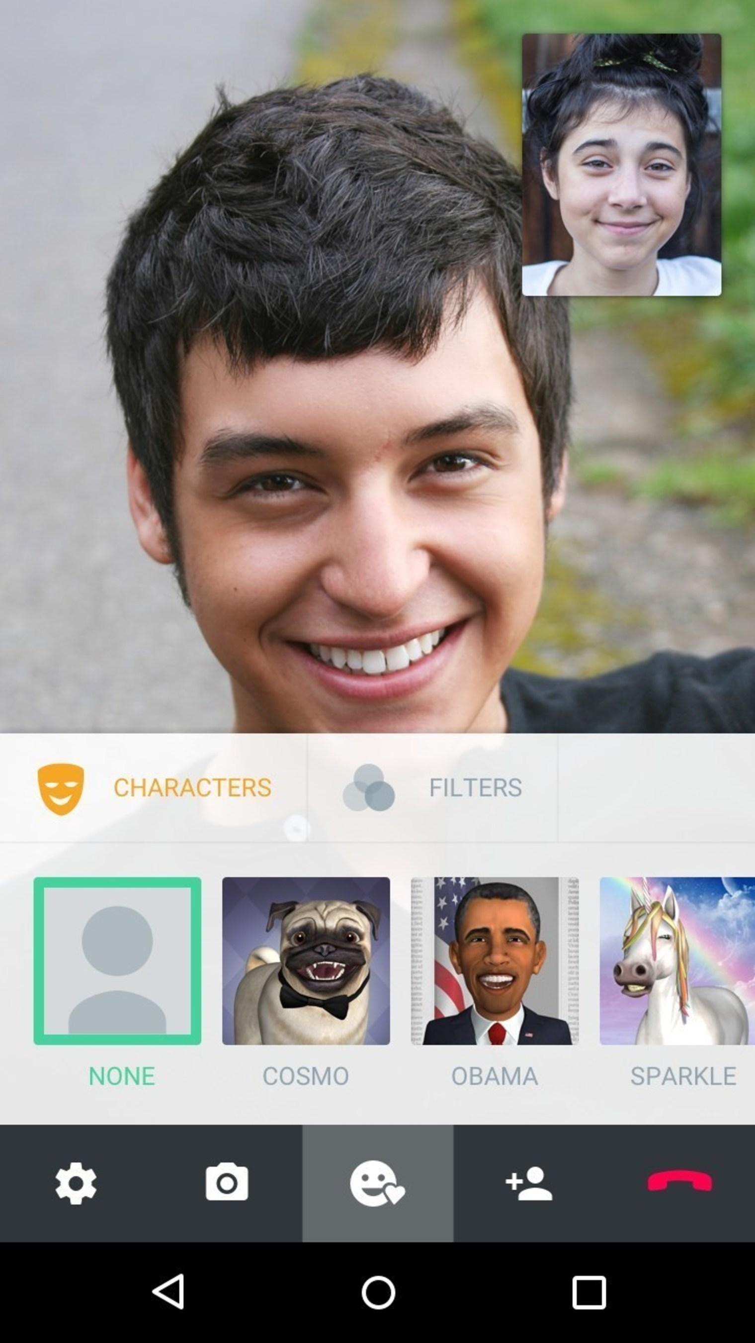 ooVoo Integrates 3D Characters in Mobile Video Calls