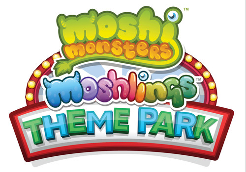 Moshi Monsters Moshlings Theme Park logo.  (PRNewsFoto/Mind Candy)