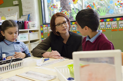 Former Prime Minister of Australia Julia Gillard appointed new Chair of the Board of Directors at the Global Partnership for Education. In her new role, she will advocate to get 57 million out-of-school children in some of the world's poorest countries in school for a quality education. Learn more: www.globalpartnership.org. (PRNewsFoto/Global Partnership for Education) (PRNewsFoto/GLOBAL PARTNERSHIP FOR EDUCATION)