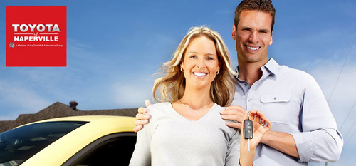 Toyota of Naperville is one of the few dealers in the area that offers rental service for its customers. They ...