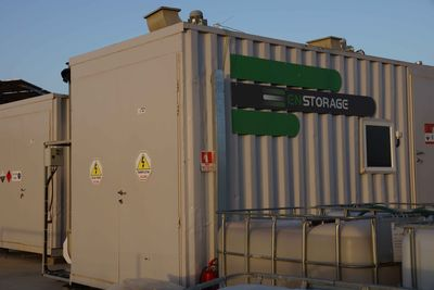 Enstorage 50KW demonstrator.