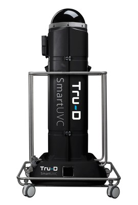 Tru-D SmartUVC provides enhanced, total room disinfection, killing up to 99.9% of pathogens left behind in health care facilities.