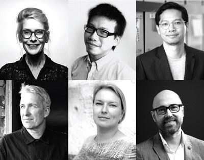International Design Week Forum Keynote Speakers (clockwise from top left): Ingrid Van der Wacht, Ben Chiu, Inthanphan Buakeow, Janson Hews, Margriet Vollenberg, Kari Korkman