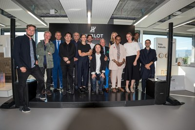 Hublot Design Prize 2016 - finalists and jury (PRNewsFoto/Hublot SA)