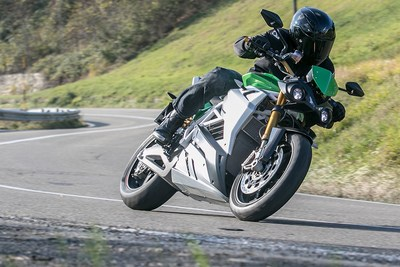 Energica Eva, the Electric Streetfighter