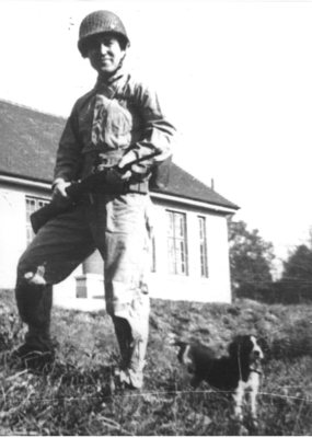 Lieutenant Caplin in May 1944 (PRNewsFoto/Caplin & Drysdale)