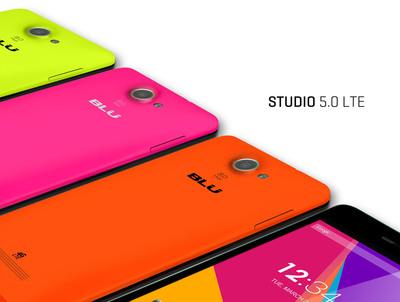 Studio 5.0 LTE (PRNewsFoto/BLU Products)